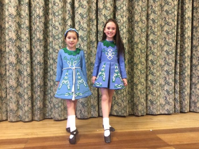 Room 9 with some Irish Dancing!
