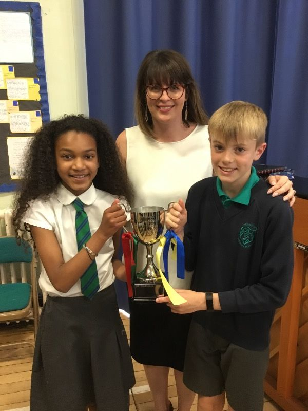 McClenghan House - winners of House Competition