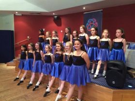 Strandtown's Irish Dancing Team  Display Their Talents.
