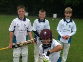 Magnificent Effort By Boys\' Cricket Team.